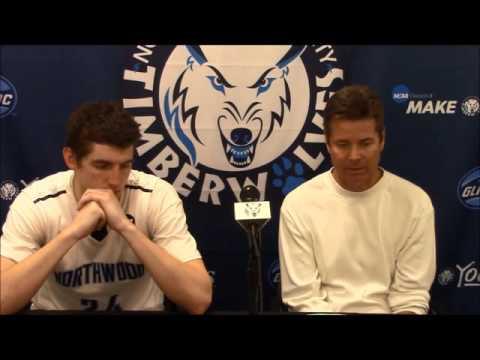 Northwood University Men's Basketball (11/24/15) Lewis 99, NU 95 - Press Conference