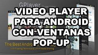 Video player pop up [Android] APP download