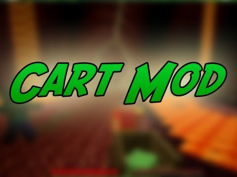 Minecraft Mods | Episode 479 | Cart Mod | iPodmail | 1.2.5