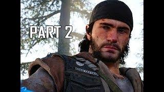 DAYS GONE Walkthrough Part 2 - Copeland Camp (PS4 Pro Let's Play)