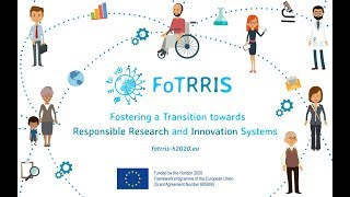 Fostering Transition towards Responsible Research and Innovation Systems