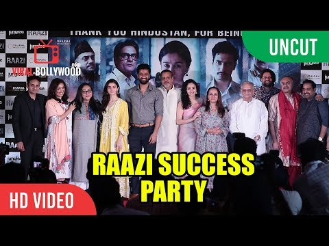 UNCUT - Raazi Grand Success Party | Alia Bhatt, Vicky Kaushal, Karan Johar, Meghna Gulzar thumbnail