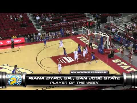 MW Women's Basketball Player of the Week - (2--8-16)