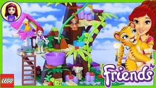 LEGO Friends Jungle Tree Sanctuary Build Review Silly Play - Kids Toys