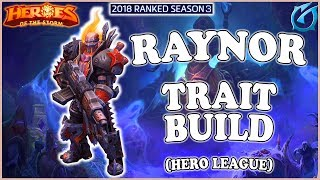 Grubby | Heroes of the Storm - Raynor - Trait Build - HL 2018 S3 - Tomb of the Spider Queen