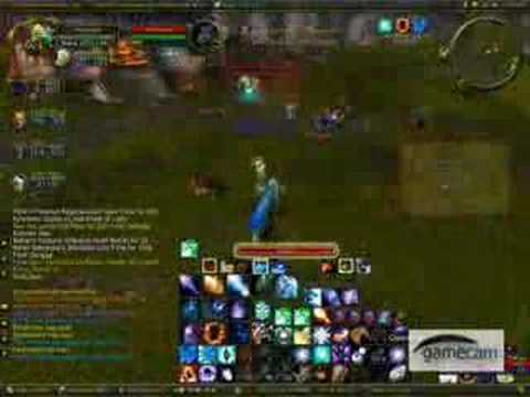 WoW PvP 70 Frost Mage ROFLMAO