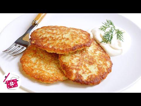 Как приготовить драники из картофеля - видео