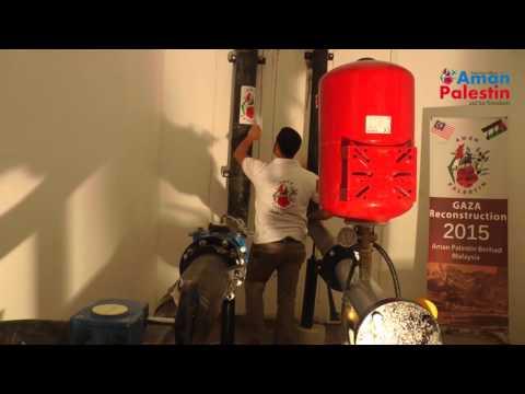 Rehabilitation of Water Reservoir in Rafah