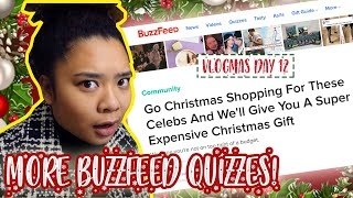 Taking MORE Holiday Buzzfeed Quizzes! | VLOGMAS 2018 🎄🎄