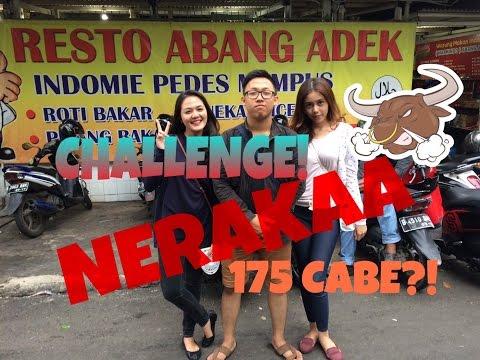 #HappyFood 2: MIE GORENG DARI NERAKA!!! Resto Abang Adek. W/ @SARADILLA