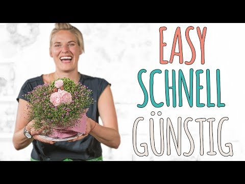 EASY, SCHNELL, GÜNSTIG - TISCHDEKO FÜR DEN SOMMER - DIY