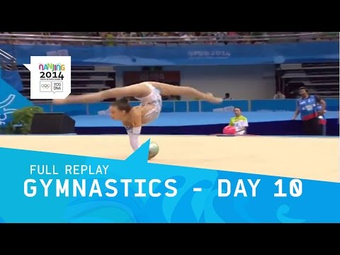 Rhythmic Gymnastics   Women's Qualifications   Full Replay   Nanjing 2014 Youth Olympic Games