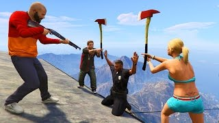 GTA 5 Brutal Kill Compilation (GTA V Brutal family Funny Moments Fail Thug life)