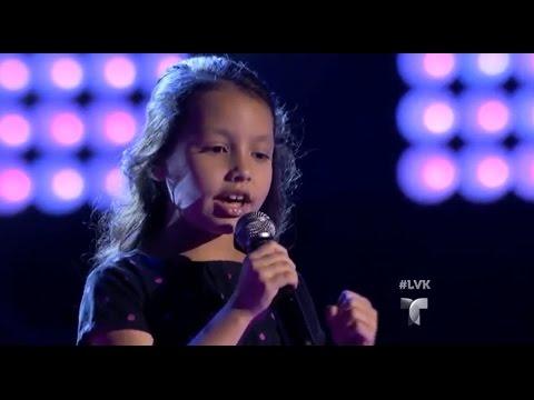 La Voz Kids | Ana Rodríguez canta 'Equivocada' en La Voz Kids 3