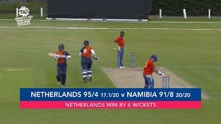 ICC T20WC Qualifier: NED v NAM - Match highlights