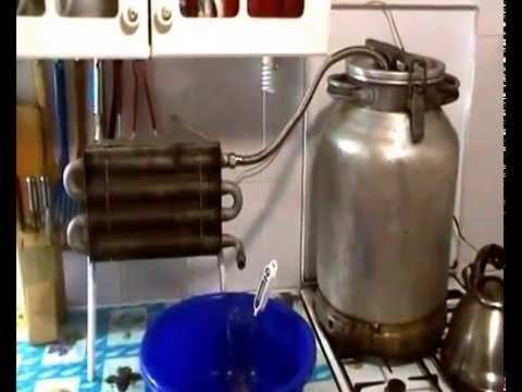 Охладитель на самогонный аппарат