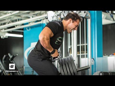 IFBB Pro Craig Capurso's Ultimate Back Workout