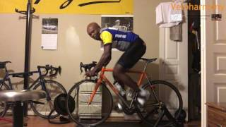 Belly Breathing while cycling
