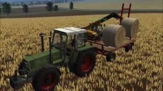 Landwirtschafts-Simulator, 2011, ls, 11, Riverside, Dreschen, New, Holland, Fendt, LU, Jura-Franken