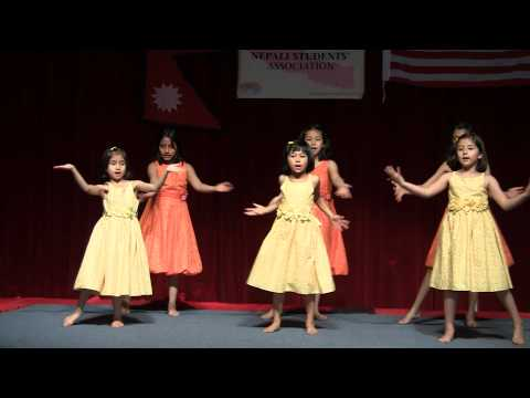Nepali Children Dancing On The Stage- Jun Ta Lagyo Tara Le.m2ts video