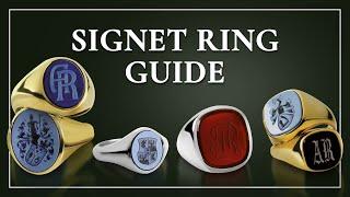 Men's Signet Ring Primer -  How to Find Rings For Men