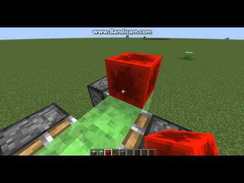 Как сделать мотоцикл в майнкрафте из блоков