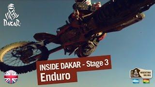 Stage 3 - Inside Dakar 2016 - Enduro