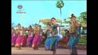 Lao dance ຟ້ອນ ຈໍາປາເມືອງລາວ Dance Champa of Laos