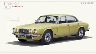 Jaguar XJ   50 Years of Flagship Luxury
