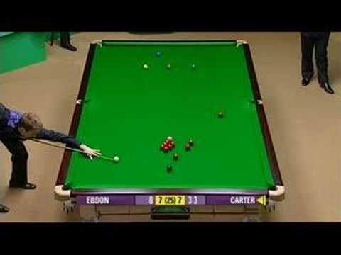 147 Ali Carter Snooker World Champs 2008 - English - Part 1