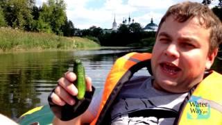 река клязьма на моторной лодке