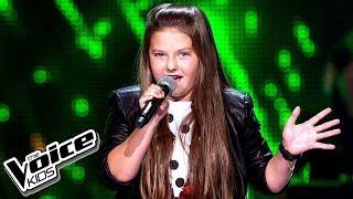 """Natalia Tylek - """"Znak"""" - Przesłuchania w ciemno -The Voice Kids 2 Poland"""