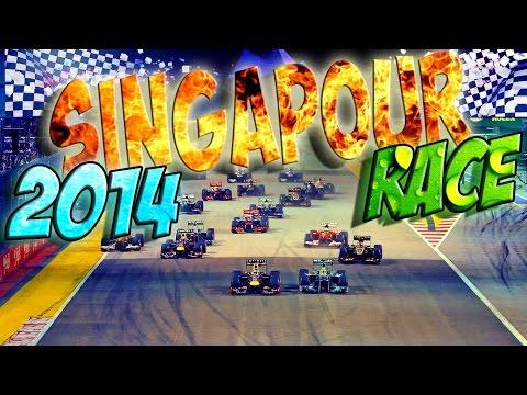 F1 (Mod 2014) - Grand Prix de Singapour - Course - IA Legend - Saison 4