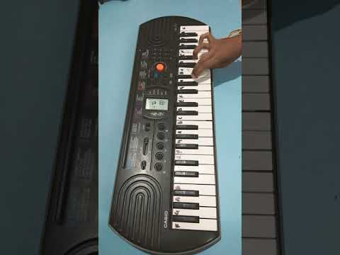 Tutorial on 'Sa Re Ga Ma' for begginers on Casio