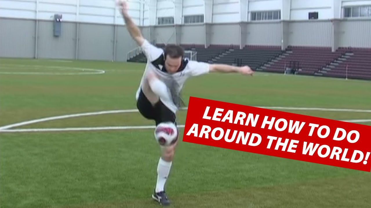 How To Do The Around The World Soccer Juggling Trick ...