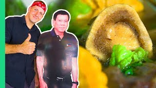 Presidential Food Tour! Duterte's Favorite Carendaria and the MOST UNIQUE food in Davao!
