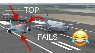 TOP Funniest FAILS Infinite Flight Live