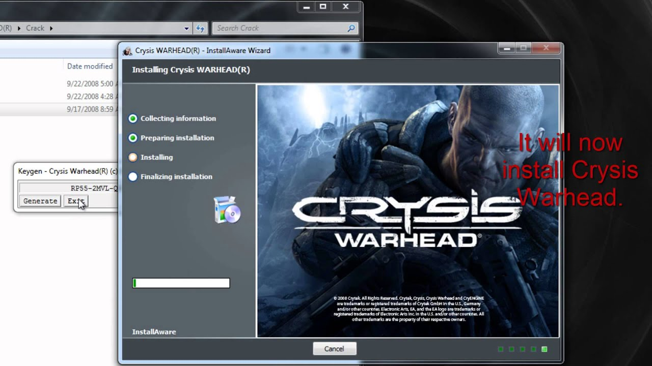 Crysis Warhead Home page: www.hyperdesk.com boxes, a nanosuit-inspired cust