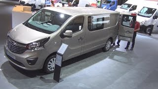 Opel Vivaro Panel Van L2H1 1.6 CDTI ecoFlex Exterior and Interior in 3D 4K UHD