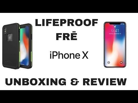 Lifeproof FRĒ for iPhone X: Unboxing & Review