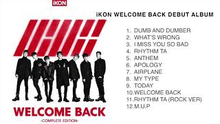 iKON Full Albums and Songs List