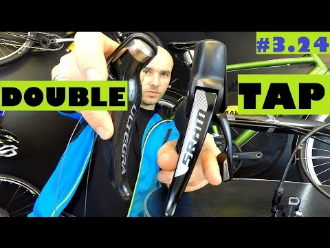 Sram Double Tap vs. Shimano shifting system. Rival vs. Ultegra shifters.