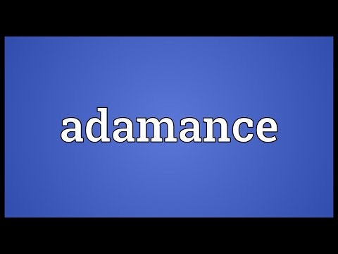 Header of Adamance