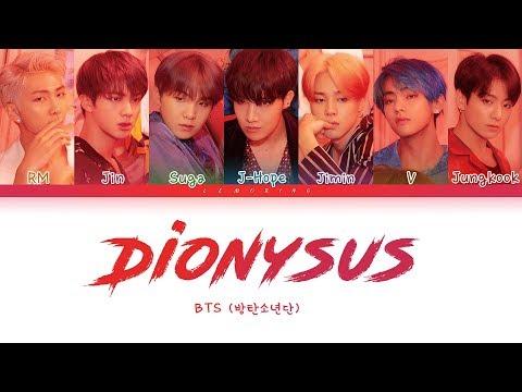 Download BTS - Dionysus 방탄소년단 - Dionysus Color Coded s/Han/Rom/Eng/가사 Mp4 baru