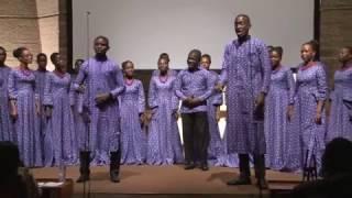 Winneba Youth Choir Ghana - The Holy City, Stephen Adams.
