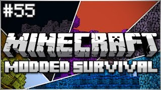 Minecraft: Modded Survival Let's Play Ep. 55 - Mythril Party