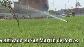 Moderno Sistema de Riego Tecnificado en San Martín de Porres