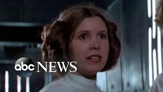 Carrie Fisher Hospitalized After Flight to L.A.