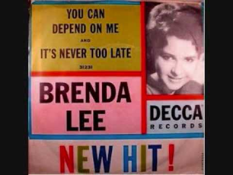 Brenda Lee - Its Never Too Late