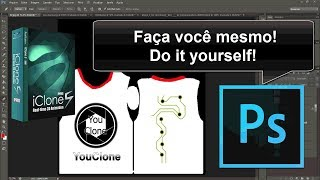 customize sua própria camiseta  [Tutorial/iClone 5] customize your own t-shirt